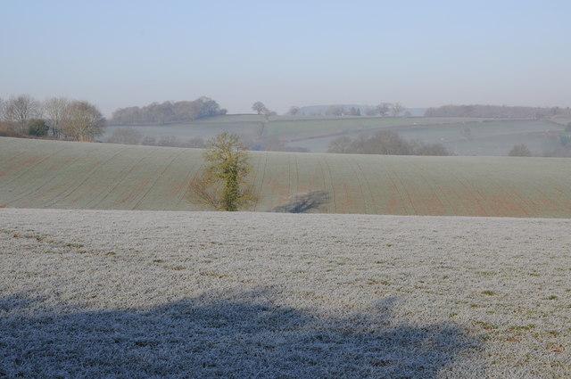 Monmouthshire farmland