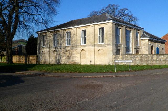 Grade II listed Ebley Chapel
