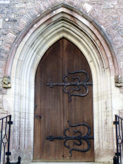 Door, St Mary's Church