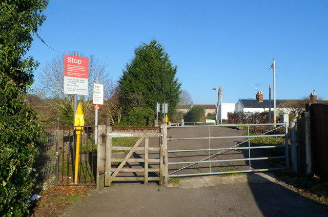 Ebley level crossing