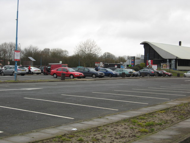 Membury Services on the east-bound M4