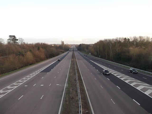 M20 past Ashford