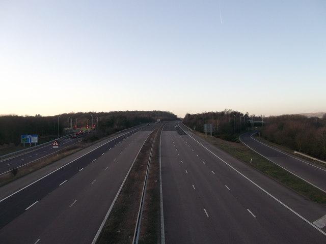 M20 Motorway Junction 10
