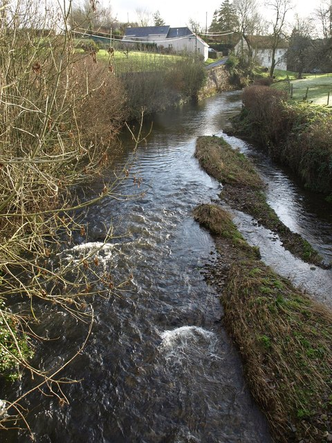 River Taw from Bondleigh Bridge