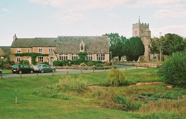 The former National School at Ducklington