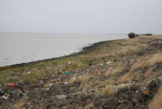 Flotsam and jetsam, Thames Estuary