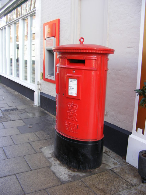 Royal Mail The Thoroughfare Postbox