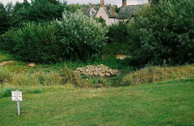 No ducks at Ducklington
