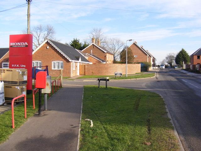 Mendham Lane & Parklands Mendham Lane Postbox