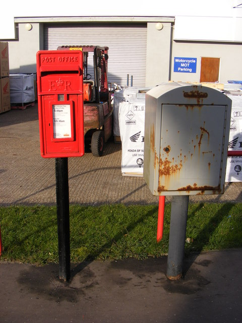 Parklands Mendham Lane Postbox