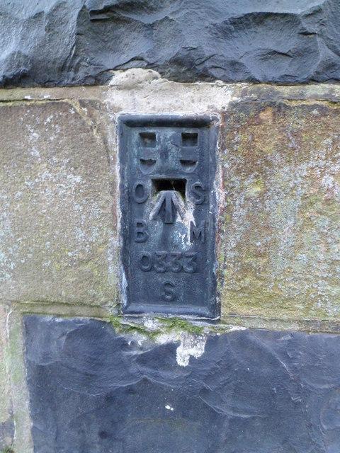 Flush bracket S0333 on Bangor Road, Penmaenmawr