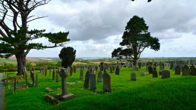 St Keverne Churchyard