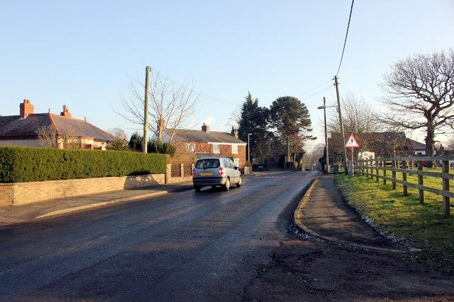 High Street, Norley