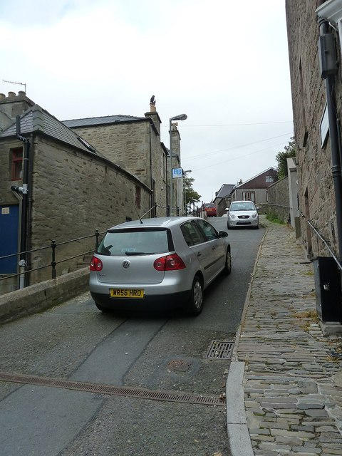 Charlotte Street formerly Garrison Closs, Lerwick