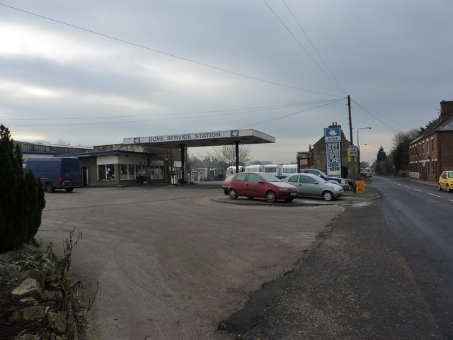 Dove Service Station, Mayfield Road