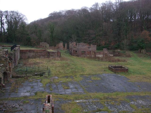 Ruins below Battery Pool