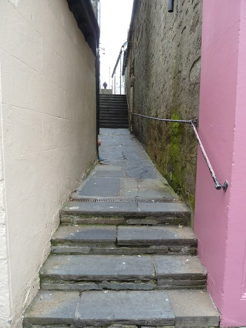 Quendale Lane formerly Grierson's Closs, Lerwick