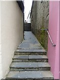 HU4741 : Quendale Lane formerly Grierson's Closs, Lerwick by Rob Farrow