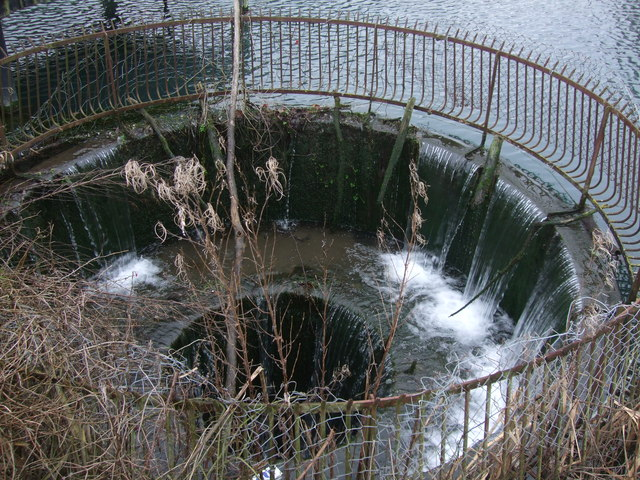 Drainage well from Battery Pool