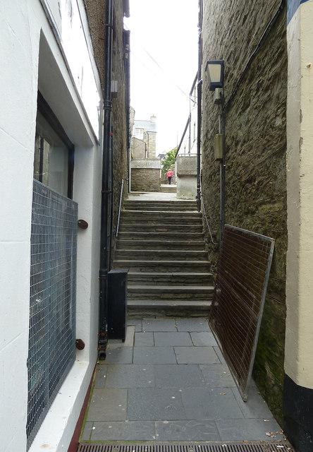 Pitt Lane formerly Leask's Closs, Lerwick