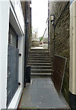 HU4741 : Pitt Lane formerly Leask's Closs, Lerwick by Rob Farrow