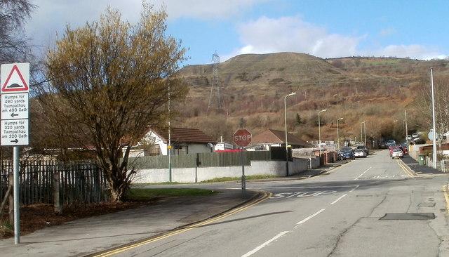Trethomas crossroads