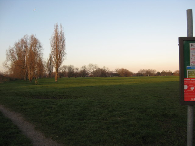 Recreational grounds at Baffins, Portsmouth