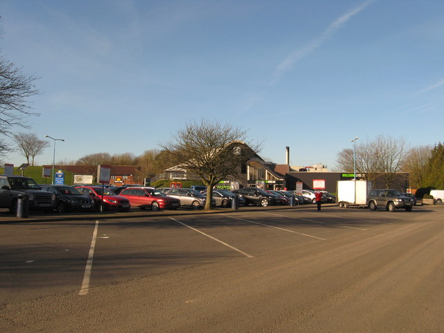 Membury Services on the west-bound M4