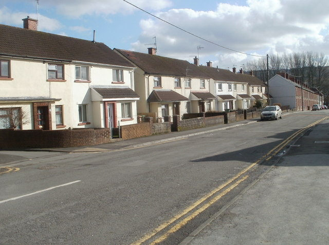 Change of house type, Navigation Street, Trethomas