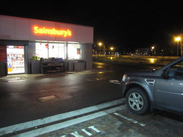 Sainsbury Filling Station Newcastle under Lyme
