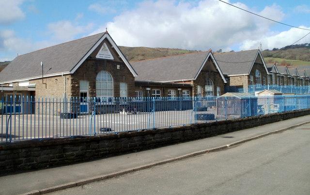 Infants' school, Tyn-y-wern Primary School, Trethomas
