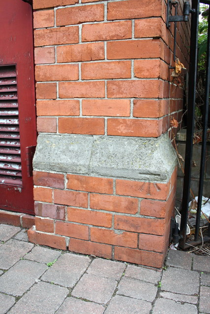 Benchmark on Gents on Matilda Street