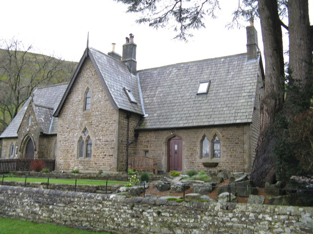 Buckden, Yorkshire:  Former school