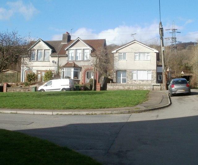 Possibly the UK's shortest High Street, Trethomas