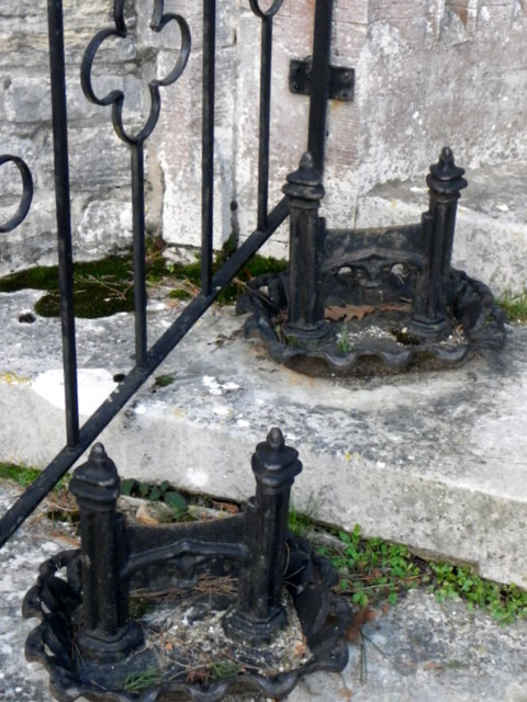 Boot scrapers, St Mary's Church