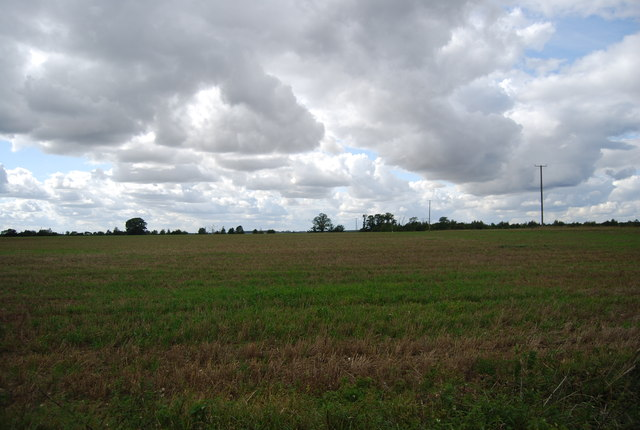 Farmland, Claydon Hall