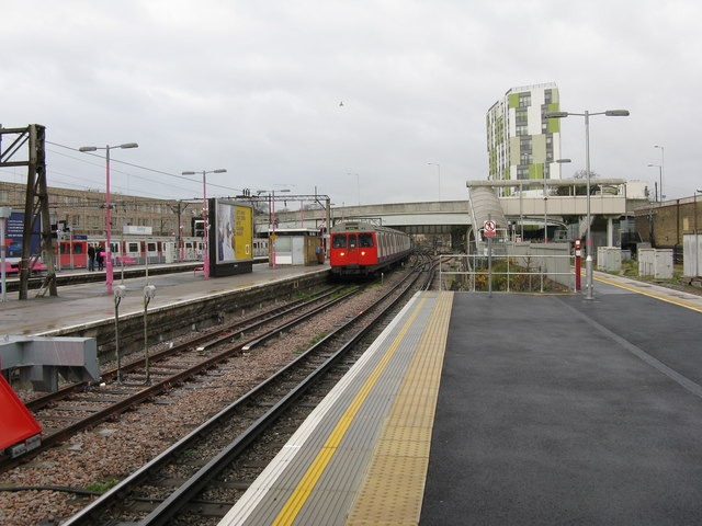 Barking station:  District Line