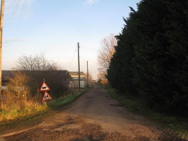 Entrance to Tudworth Farm