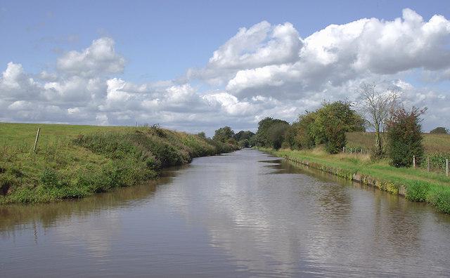 Shropshire Union Canal south of Audlem Locks, Cheshire
