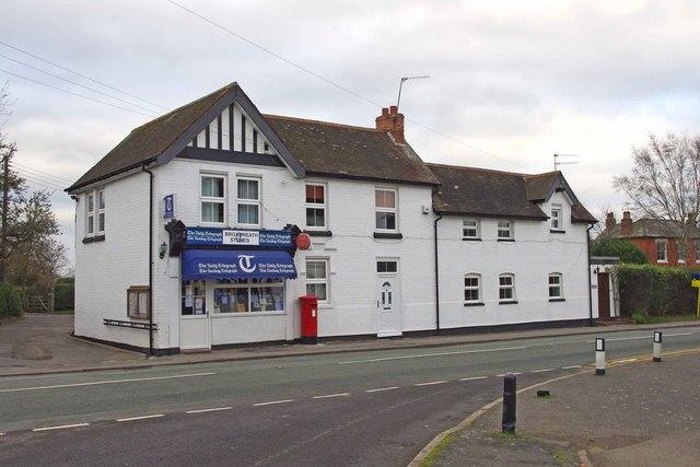Broadheath Stores & Post Office, Martley Road, Lower Broadheath