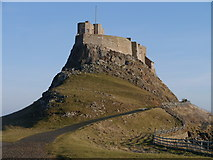NU1341 : Lindisfarne Castle by James T M Towill