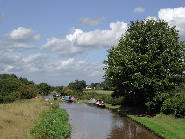 Shropshire Union Canal south of Audlem, Cheshire