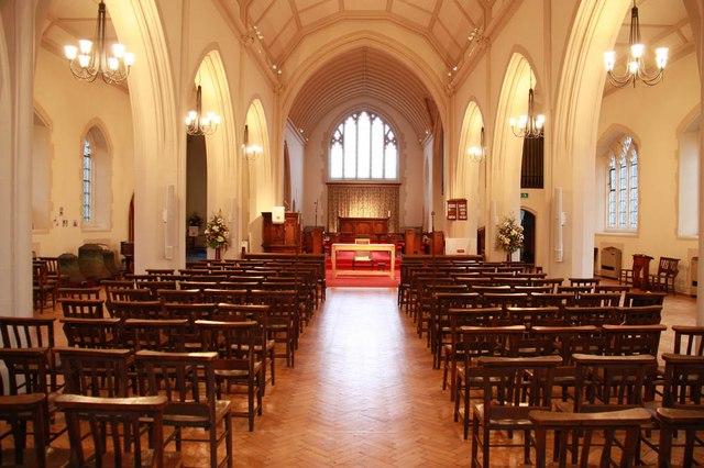 St John the Divine, High Path, Merton - East end