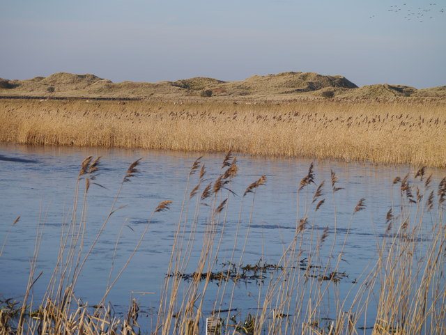 The Lough And Nearby Dunes