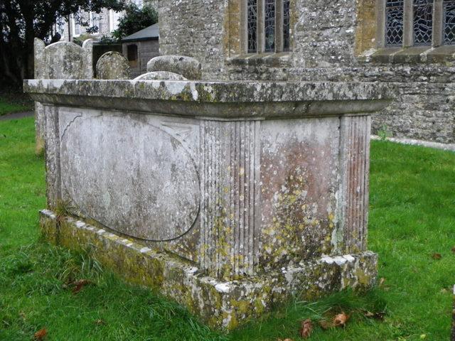 Chest tomb, St Michael's Church