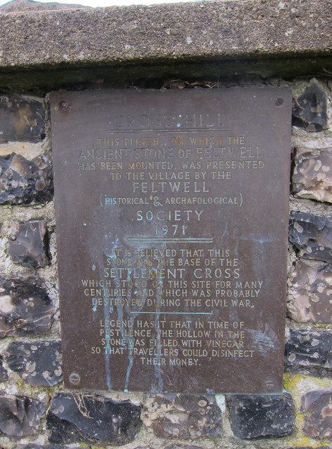 Cross Hill ancient stone plinth