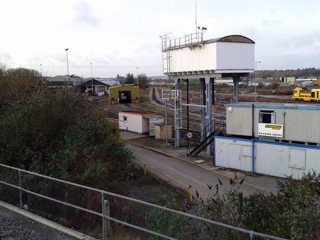 Water tank in Reading Depot