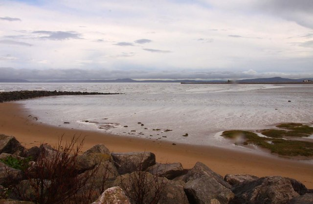 Sheltered beach at Sandylands