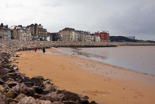 The beach at Sandylands