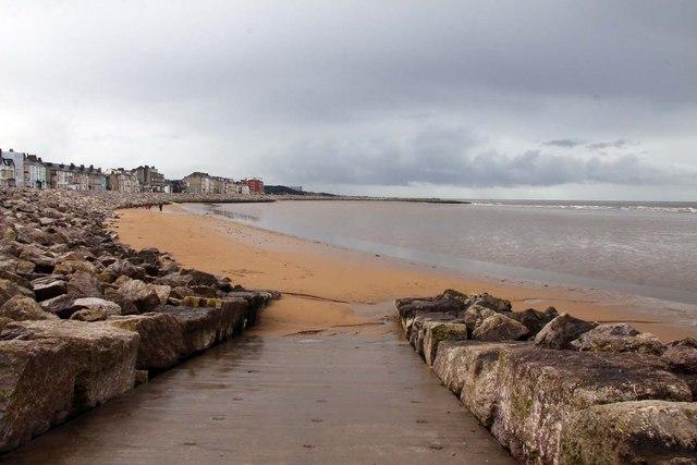 Slipway to the beach